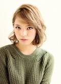 【afloat 世紀】外国人風アッシュベージュ♡イノセントボブ♡SK-49
