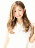 【afloat 世紀】髪型 美髪ロング ミルクティーベージュ SK-57
