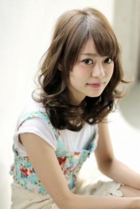 【afloat 世紀】髪型 美髪ロングウェーブ シナモンベージュ SK-58