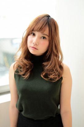 【afloat 世紀】髪型 小顔前髪 外国人風カラー SK-74