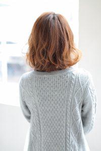 【afloat 世紀】髪型 大人可愛いひし形ミディSK-80