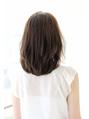 【afloat 世紀】髪型 小顔シースルーバングひし形ミディSK-79