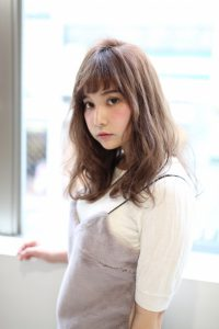 【afloat 世紀】髪型 ミディアムローレイヤー SK-88