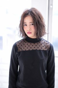 【afloat 世紀】髪型 小顔ボブ デジタルパーマウェーブ SK-94
