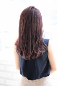 【afloat 世紀】髪型 小顔ローレイヤーピンクバイオレットカラー SK-98