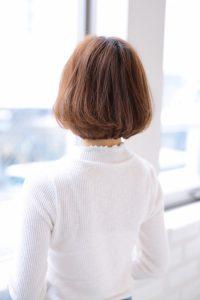 【afloat 世紀】髪型 ミディアムボブ ミルクティーブラウン SK-100