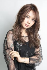 【HAPPINESS 河原町 世紀】髪型 大人可愛い艶髪ミディアム SK-157