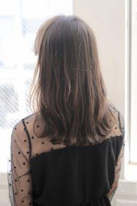 【HAPPINESS 河原町 世紀】髪型 ミディアムデジタルパーマ SK-153