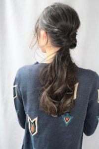 【HAPPINESS 河原町 世紀】髪型 簡単くるりんぱアレンジ SK-167