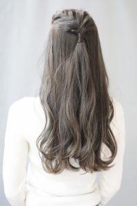 【HAPPINESS 河原町 世紀】髪型 前髪アレンジ韓国スタイル SK-160