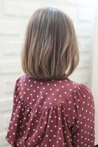 【HAPPINESS 河原町 世紀】髪型 モテ愛され小顔ボブ SK-170