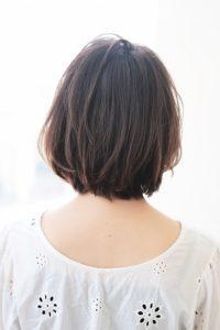 【HAPPINESS 河原町 世紀】髪型 モテ愛されニュアンスボブ SK-171