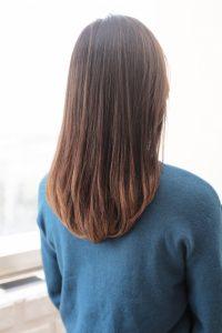 【HAPPINESS 河原町 世紀】髪型 ワンカールミディ SK-176