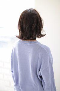 【afloat 世紀】髪型 ミディアムローレイヤーピンクバイオレットカラー SK-99
