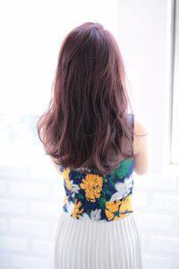 【afloat 世紀】髪型 前髪長めローレイヤーピンクバイオレット  SK-95