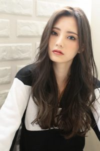 【HAPPINESS 河原町 世紀】髪型 外国人風ロングレイヤースタイル SK-154