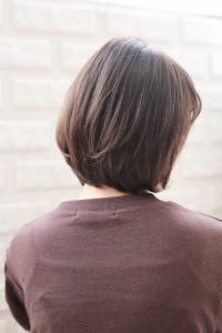 【HAPPINESS 河原町 世紀】髪型 モテ愛され小顔ボブ SK-169