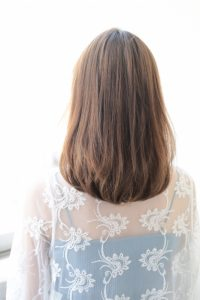 【HAPPINESS 河原町 世紀】髪型 モテ愛されリラックスミディ SK-165
